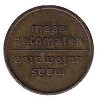Maas Automaten. Жетон кофейного автомата. Нидерланды.