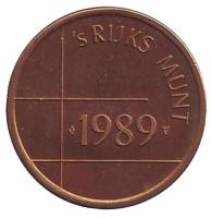 Жетон Нидерландского монетного двора. 1989 год.