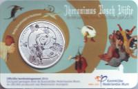 500 лет со дня смерти Иеронима Босха. Монета 5 евро. 2016 год, Нидерланды.