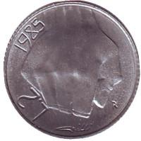Борьба с наркотиками. Монета 2 лиры. 1985 год, Сан-Марино.