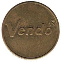 Vendo. Жетон торгового автомата. Бельгия.