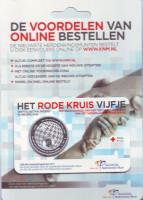 150 лет Голландскому Красному Кресту. Монета 5 евро. 2017 год, Нидерланды.