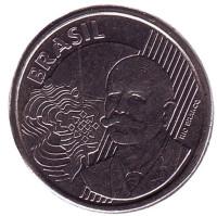 Хосе Паранхос. Монета 50 сентаво. 2010 год, Бразилия.