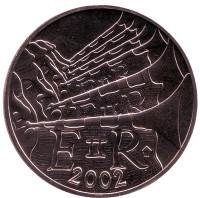50 лет правлению Королевы Елизаветы II. Монета 1 доллар. 2002 год, Бермуды.