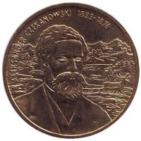 Александр Чекановский. Монета 2 злотых, 2004 год, Польша.