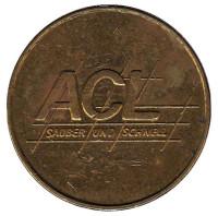 ACL. Жетон автомойки, Австрия.