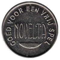 Novelta. Игровой жетон, Бельгия.