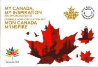 150 лет Конфедерации Канада. Набор монет Канады (8 шт.) в банковской упаковке. 2017 год.