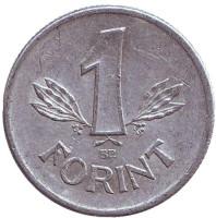 Монета 1 форинт. 1982 год, Венгрия.