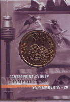 Олимпийские игры в Сиднее. Монета 1 доллар. 2000 год, Австралия. (Сидней)