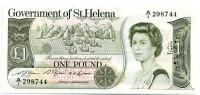 Банкнота 1 фунт. 1979 год, Остров Святой Елены.