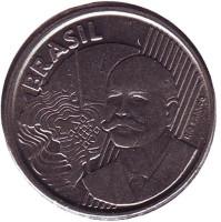 Хосе Паранхос. Монета 50 сентаво. 2011 год, Бразилия.