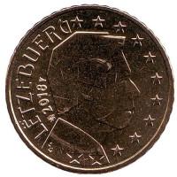 Монета 50 центов. 2018 год, Люксембург.