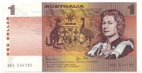 Банкнота 1 доллар. 1974-1983 гг, Австралия.