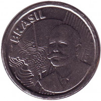 Хосе Паранхос. Монета 50 сентаво. 2013 год, Бразилия.