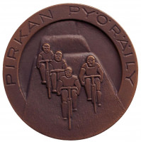 Велоспорт. Памятная медаль. 1982 год, Финляндия.