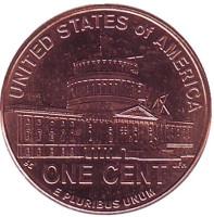 Президентство Линкольна. 1 цент (P), США, 2009 год.