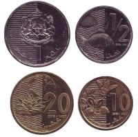 Набор монет Марокко. (4 шт.), 2016 год.