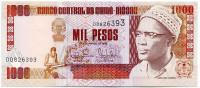 Банкнота 1000 песо. 1993 год, Гвинея-Бисау.