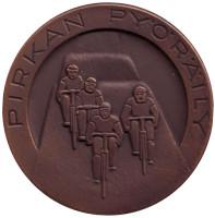 Велоспорт. Памятная медаль. 1983 год, Финляндия.