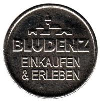 Bludenz. Парковочный жетон, Германия.