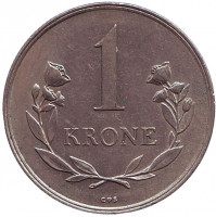 Монета 1 крона. 1964 год, Гренландия.