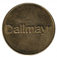 Dallmayr. Жетон кофейного автомата.