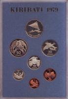 Набор монет Кирибати (7 шт.), 1979 год. Proof.