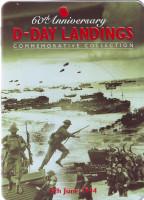 60 лет высадки в Нормандии. D-Day. Набор из 3-х монет номиналом 5 фунтов Гернси, Олдерни, Джерси. 2004 год.