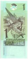Колибри. Банкнота 1 реал. 2003 год, Бразилия.