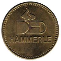 Hammerle. Сувенирный жетон.