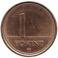 Монета 1 форинт. 1994 год, Венгрия.
